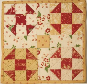Civil War Era Quilt Square