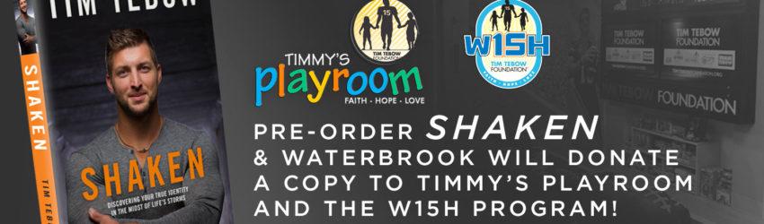 Shaken - Tim Tebow