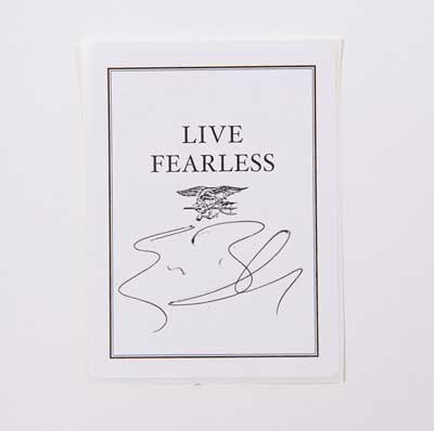 Fearless Signed Bookplate Offer
